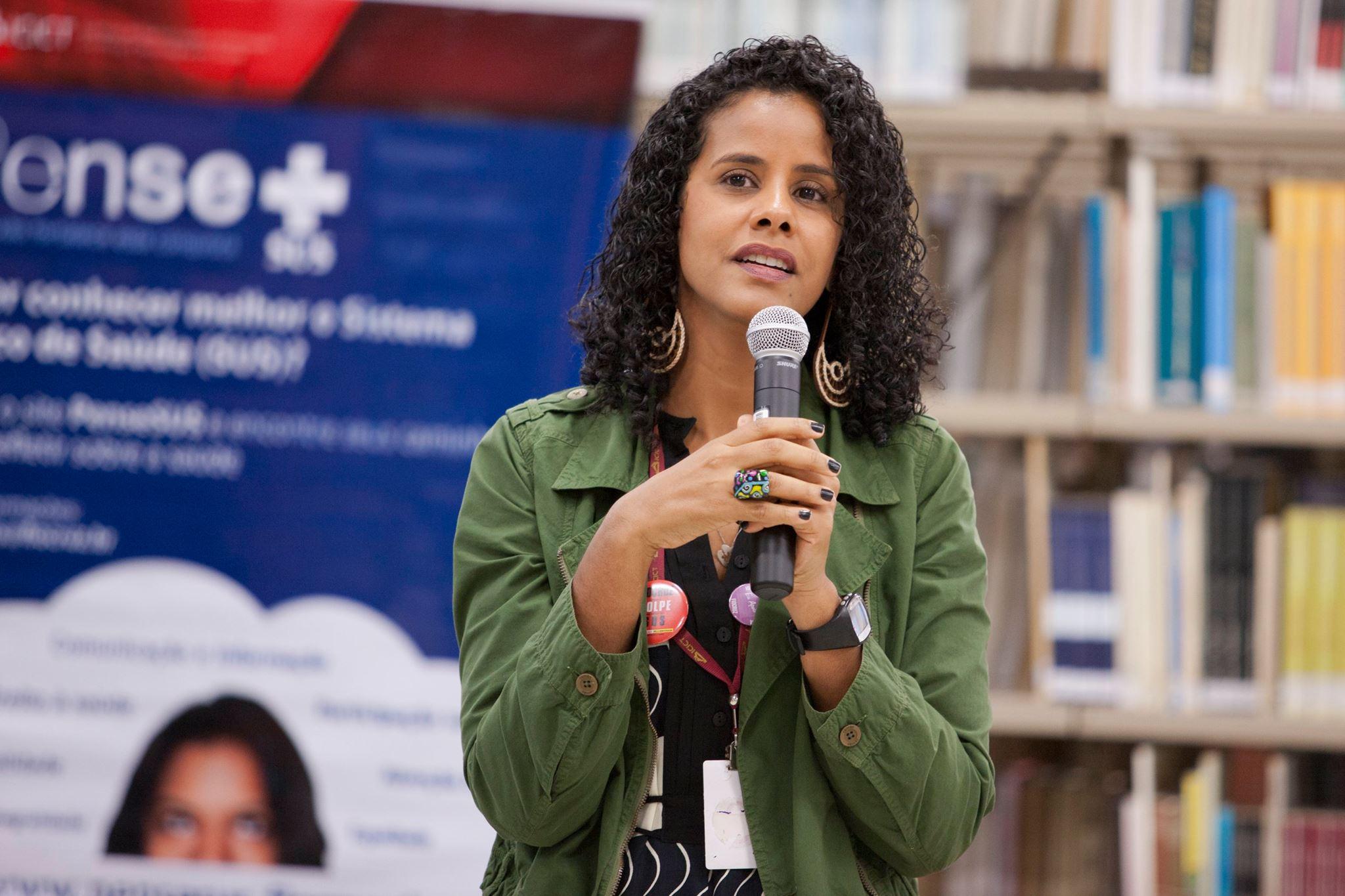 Marina Maria, editora do PenseSUS