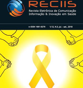 Capa da Reciis destacando a logo da campanha Setembro Amarelo