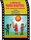 """Capa da cartilha com imagem de três crianças e o título """"As aventuras dos pequenos mosqueteiros contra dengue, zika e chikungunya"""""""