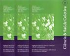 Imagem de várias capas da Revista Ciência e Saúde Coletiva
