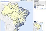 Imagem do Visualizador Cartográfico Interativo Saúde Amanhã