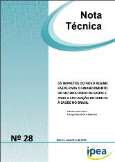 Nota Técnica 28 Ipea