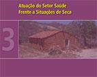 Capa do livro Atuação do Setor Saúde frente a Situações de Seca